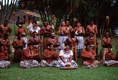 Meke Dancers of Fiji